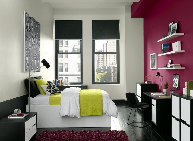 24 wall color ideas that give spring atmosphere in the home ...