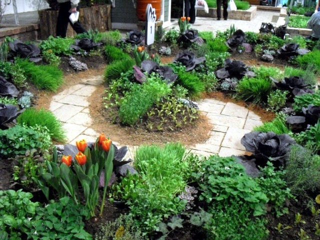 decorative vegetable garden ideas