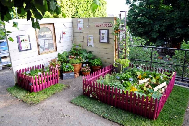 22 ideas for decorative gardens – pleasure for the eyes and palate ...