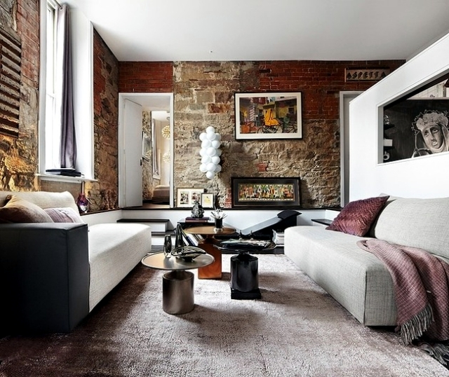 Loft in Toronto as a stage for the creative creativity
