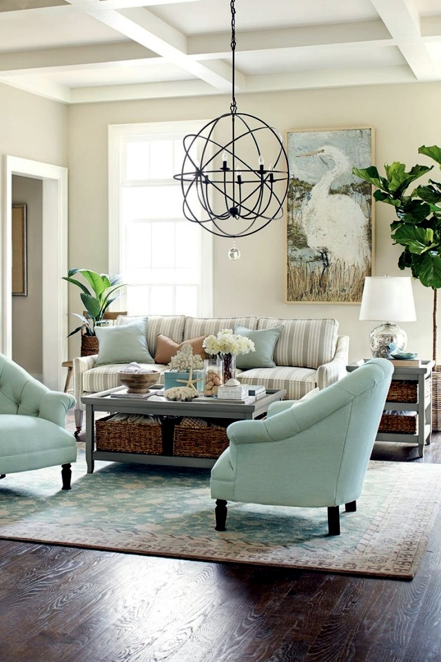 Ahoy! - Ideas maritime furniture for the living room
