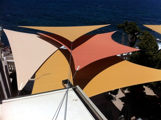 Build awning for balcony and terrace - Click