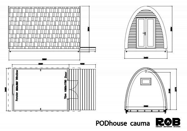 Compact, versatile Prefab Wood