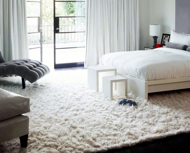 Flokati rugs celebrate his return into fashion