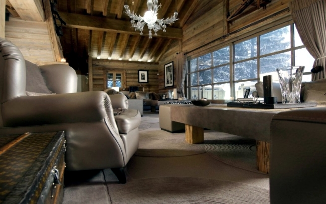 Luxury ski chalet in the French Alps – \