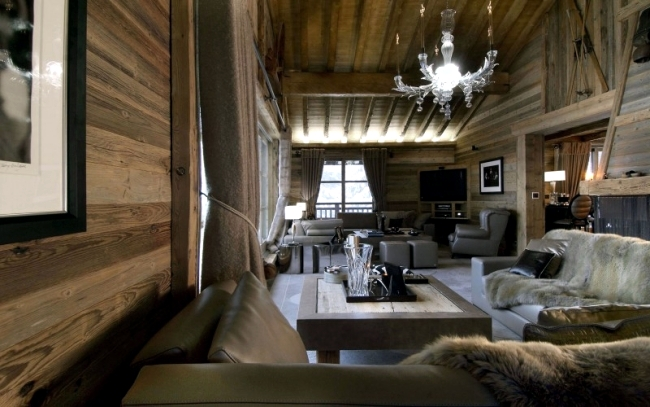 ski chalet furniture. Luxury Chalet With Comfortable Furniture Ski G