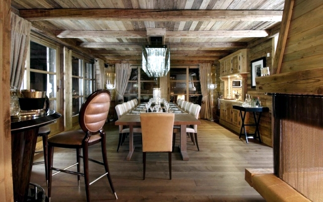 Luxury Ski Chalet In The French Alps Chalet Grande Roche Interior Design Ideas Ofdesign