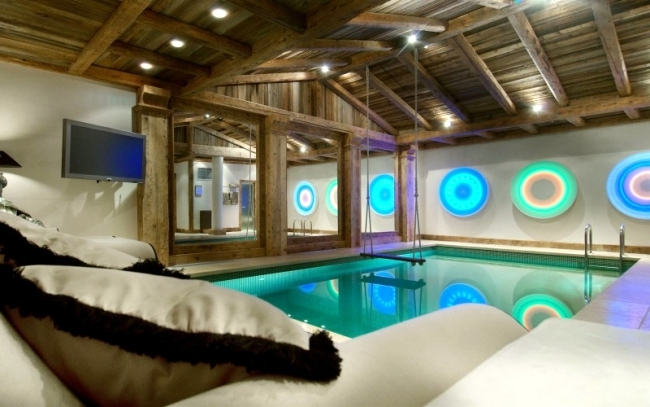 """Luxury ski chalet in the French Alps - """"Chalet Grande Roche"""""""