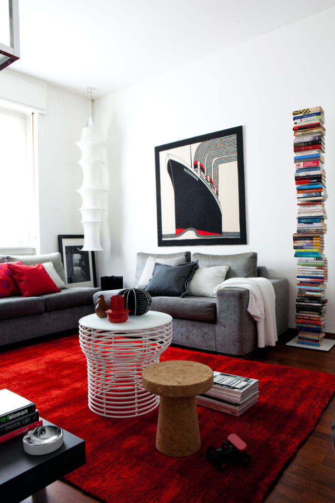 Red carpet in the living room interior design ideas for Red carpet living room ideas