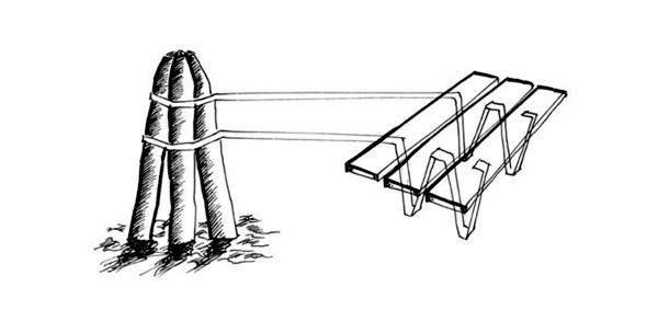 Creating table planks brings a romantic Mediterranean