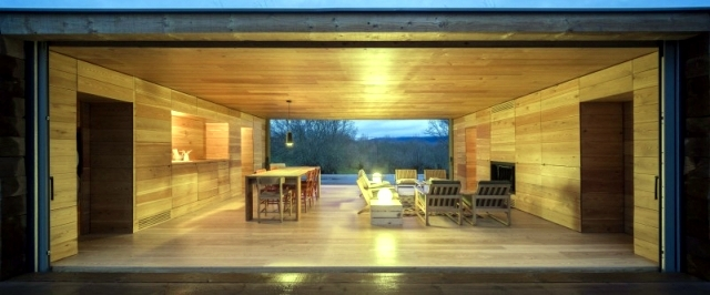 "Living in a glass timber and cozy lodge room - ""B"" Casa"