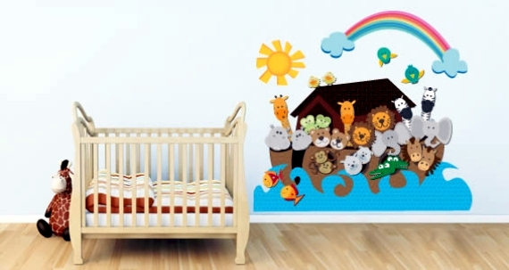 Wall Stickers For Baby Room Walls To Awaken Human Life Interior