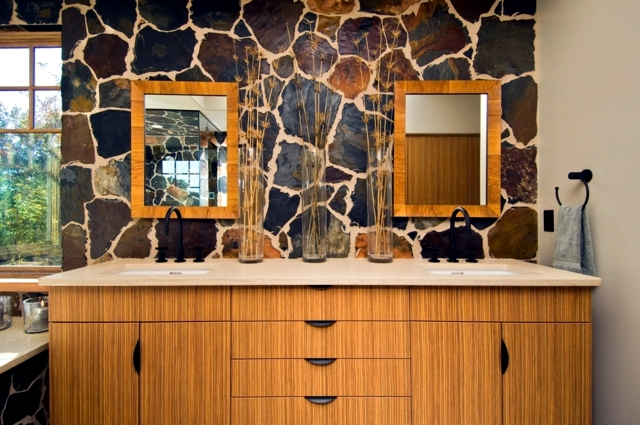 The Attraction Of Natural Stone Is Challenged   If Used Properly, Is A Warm  And Modern At The Same Time. Weu0027ll Show You 20 Inspirational Ideas For  Designing ...