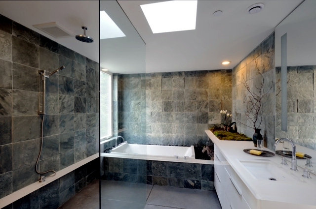 Superieur Create An Oasis Of Well Being For The House   Bathroom Design With Stone  Tiles