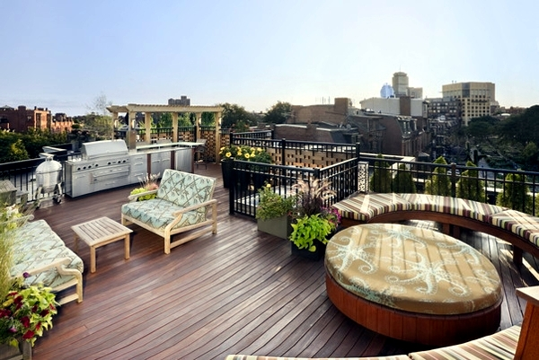 Idyllic Roof Design Ideas For A Relaxed Interior