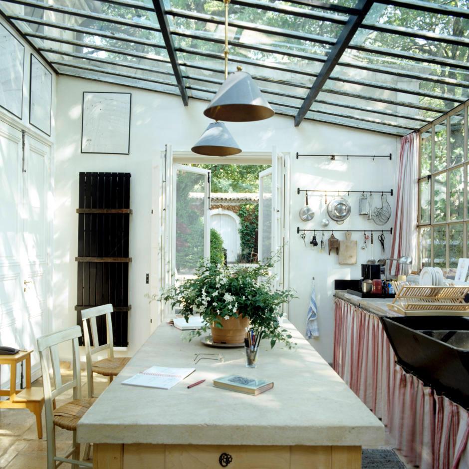 Kitchen On The Veranda Interior Design Ideas Ofdesign
