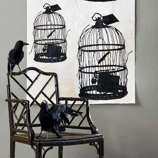 Spooky Halloween Decorating Ideas With Ghostly Silhouettes
