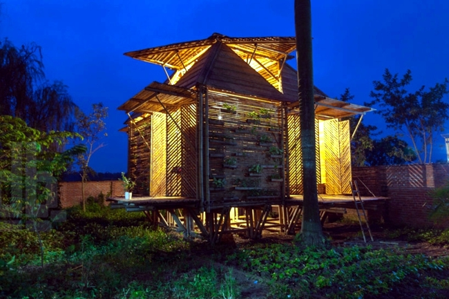 The high water resistant wood house - protection against natural disasters