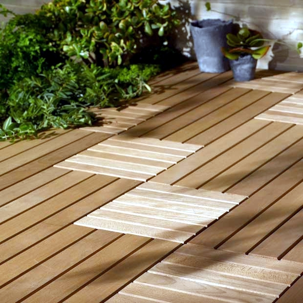 Wood Tiles Balcony Why Flooring Is Bang On Trend