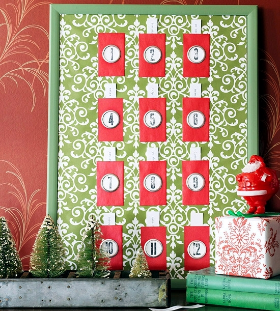 Advent Calendar paper crafts - ideas that allow children the pleasure