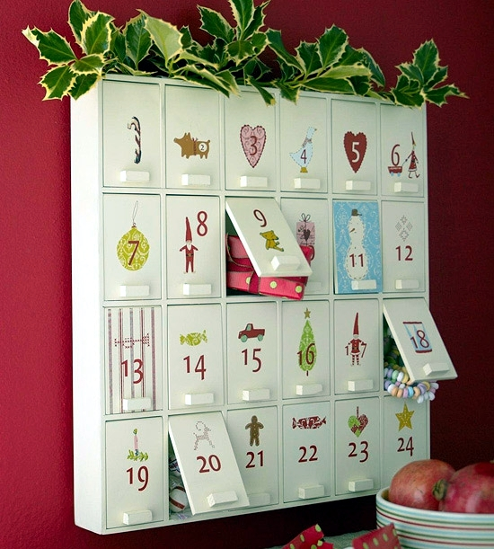 Advent Calendar Paper Crafts