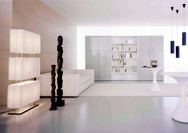 Pure White Minimalist Living Room 20 Modern Design Ideas