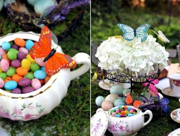 Table Decoration For Easter Three Ideas On How To Decorate