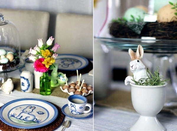 Table decoration for Easter - three ideas on how to decorate the Easter table