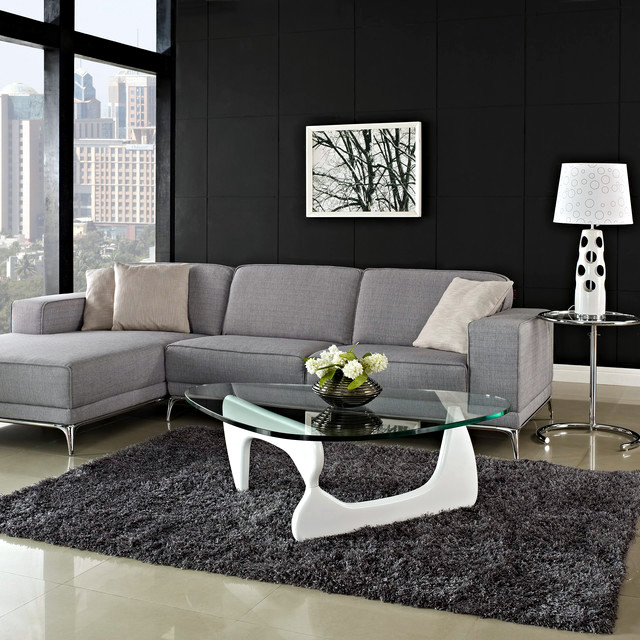 Design Ideas Coffee Table For Modern Living Room White Glass Interior Des