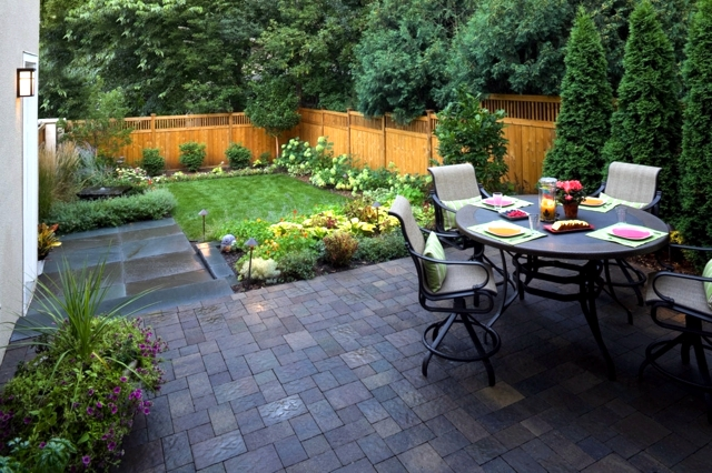 Creating a small garden - creating an oasis in 4 steps