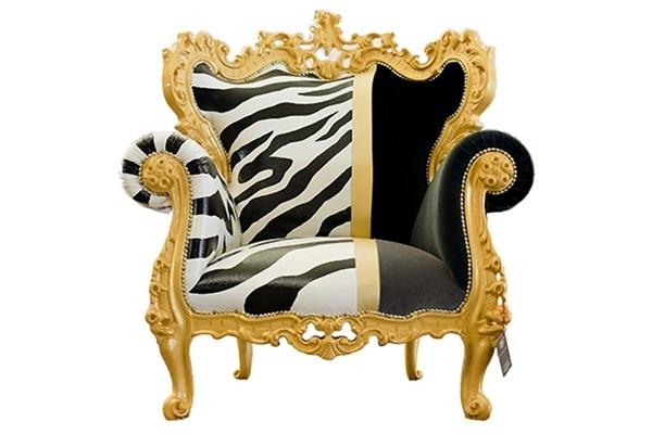 Color Design armchair Fröhlig Fuiano pacesetter