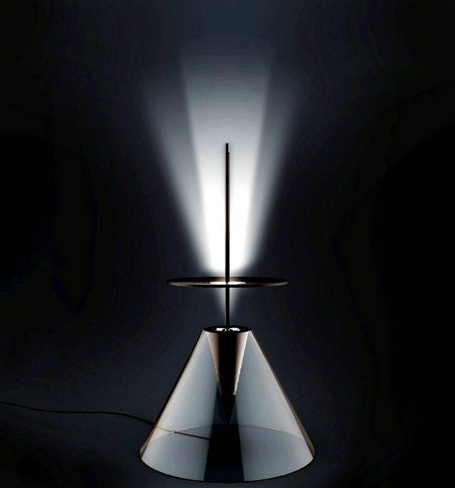 Original lamp design - creative idea because of the sunny ambiance