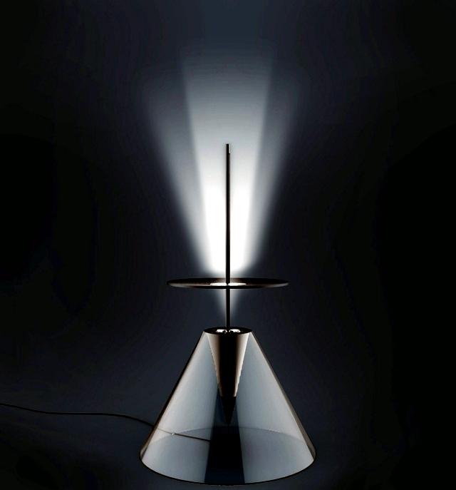Original lamp design - creative idea because of the sunny ambiance