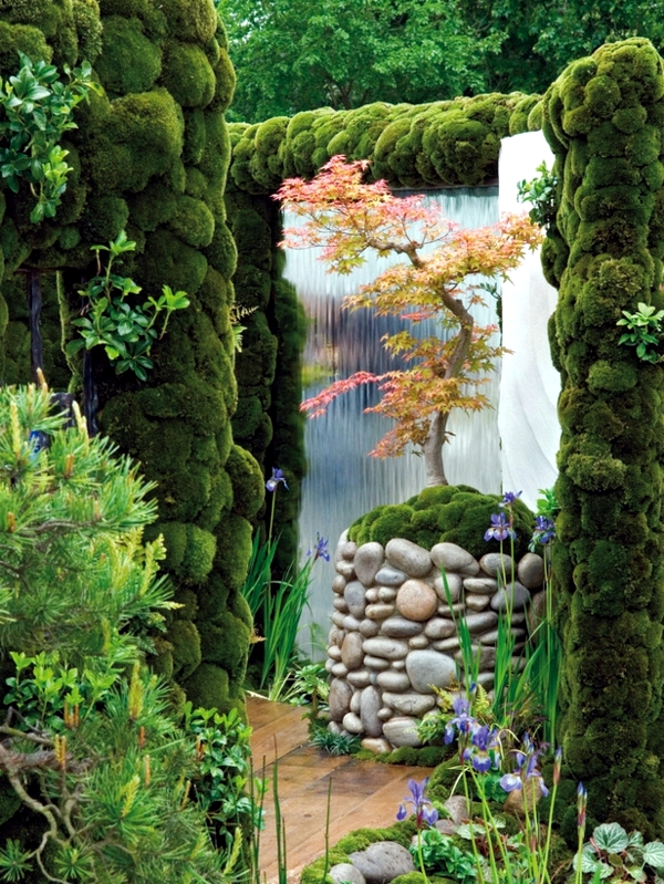 Creating A Japanese Garden   Grass, Plants And Trees