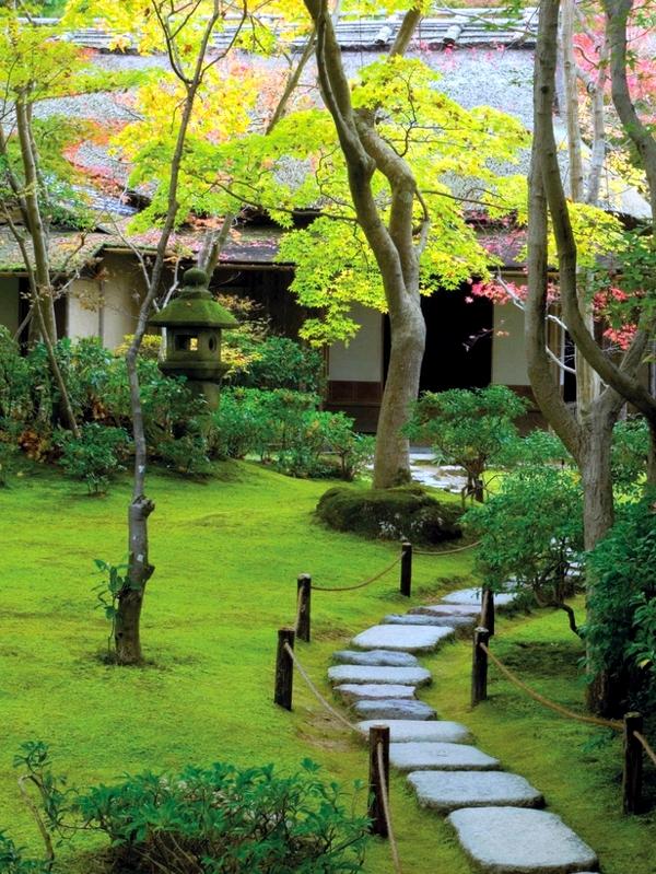 Creating a Japanese garden - Important elements of garden ...