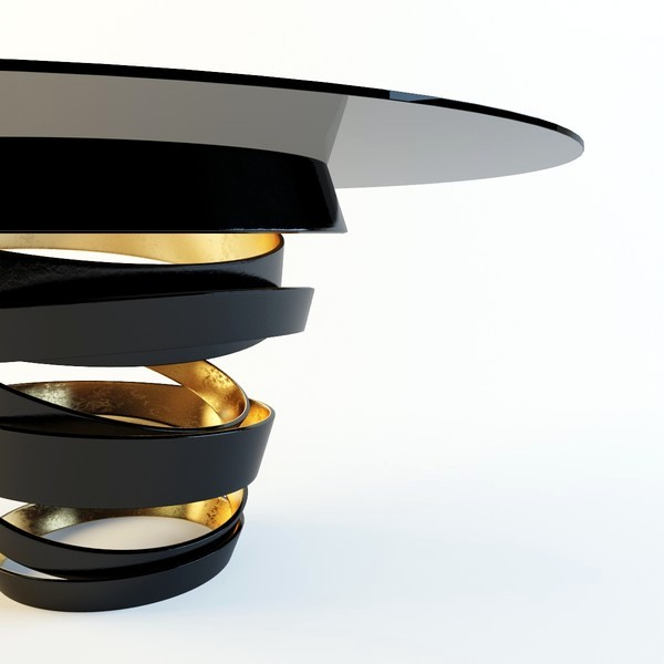 Models attractive dining table by koket guilty pleasures for Tinning table model