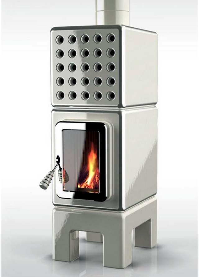 Eco modern stoves battery designed on a modular basis