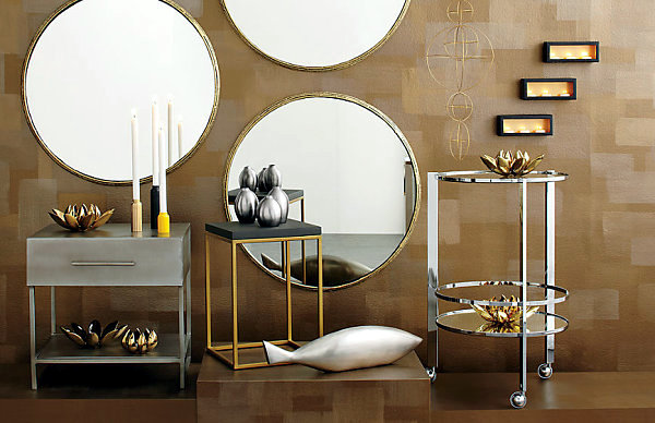 Hot Metallic Sheen In Home Decor The Return Of Brass And Copper Interior Design Ideas Ofdesign