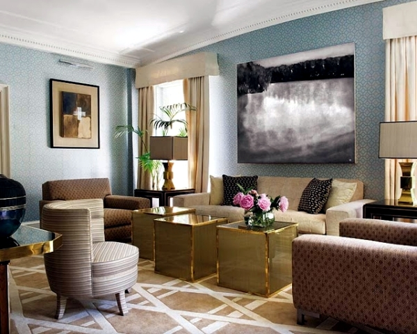 Hot Metallic Sheen In Home Decor The Return Of Brass And