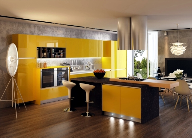Concepts of Kitchen Design oriented 3D visualized by Artem ...