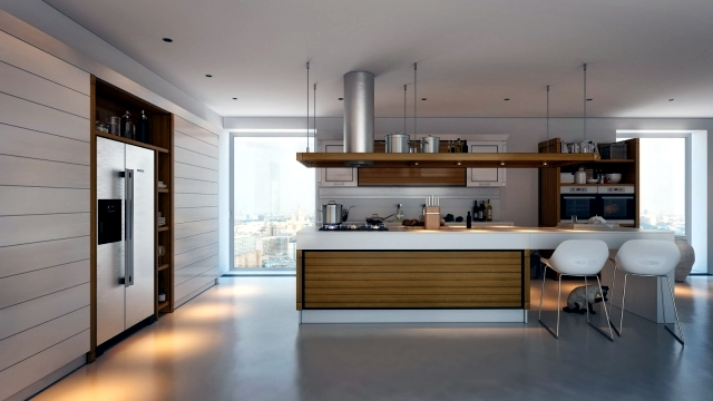 Concepts of Kitchen Design oriented 3D visualized by Artem Evstigneev