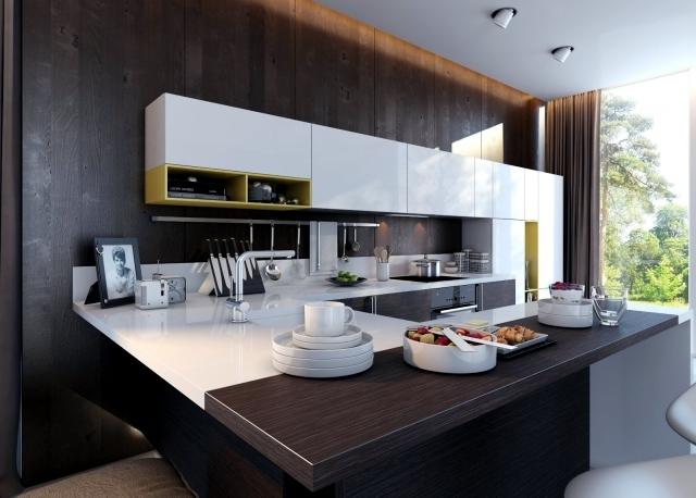 Concepts of Kitchen Design oriented 3D visualized by Artem Evstigneev