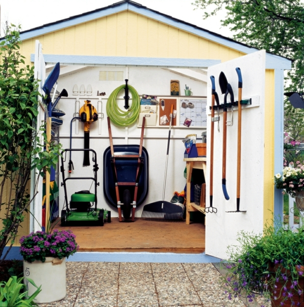 Garden Accessories And Gardening Equipment 20 Ideas For Cool Storage