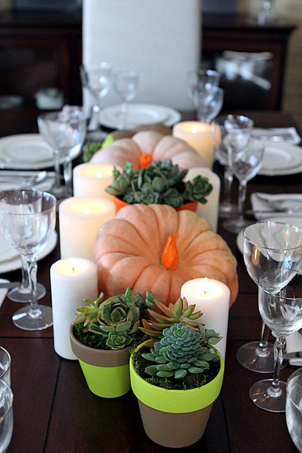 Decorate pumpkins