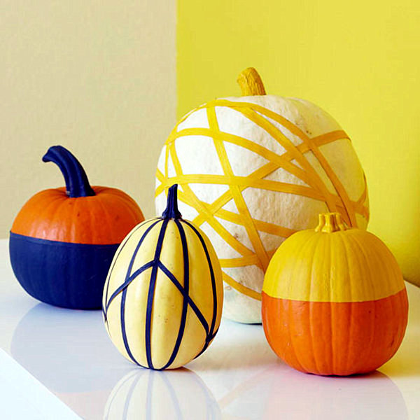 Decorative pumpkins in autumn -10 inspire organized craft ideas