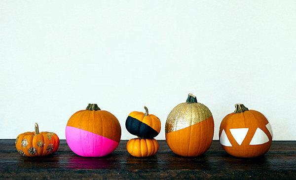 Decorative pumpkins in autumn -10 inspire organized craft ideas