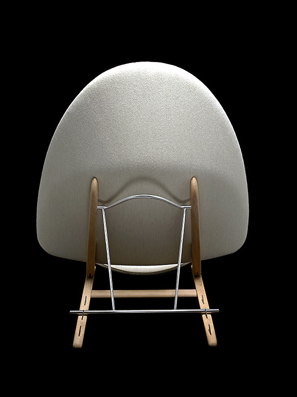 Rare Prototype Chair by Hans J. Wegner in 2014, restored