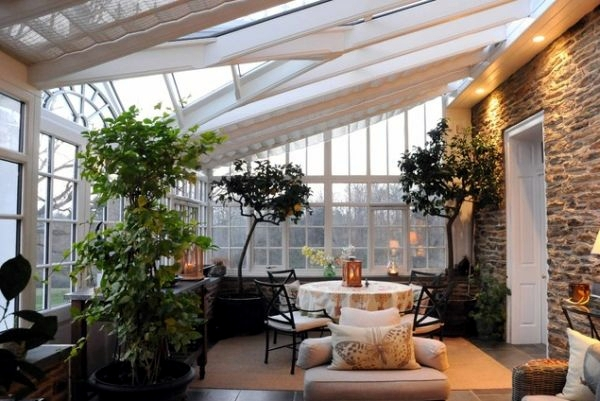 Greenhouse room gardens - Winter Garden In The House House Plants Bring Nature