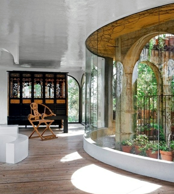 Winter Garden in the house - house plants bring nature indoors