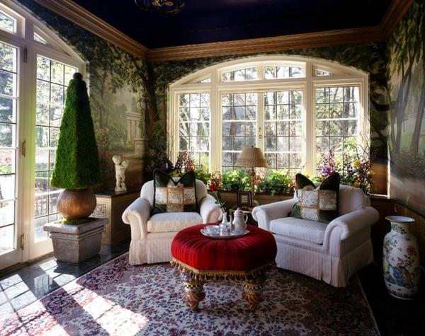 Зимний сад в доме - комнатные растения приносят природу в помещении